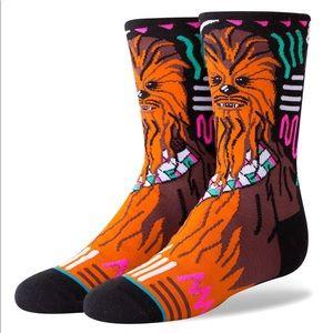 🆕 Disney Star Wars Stance Chewbacca Boys Socks